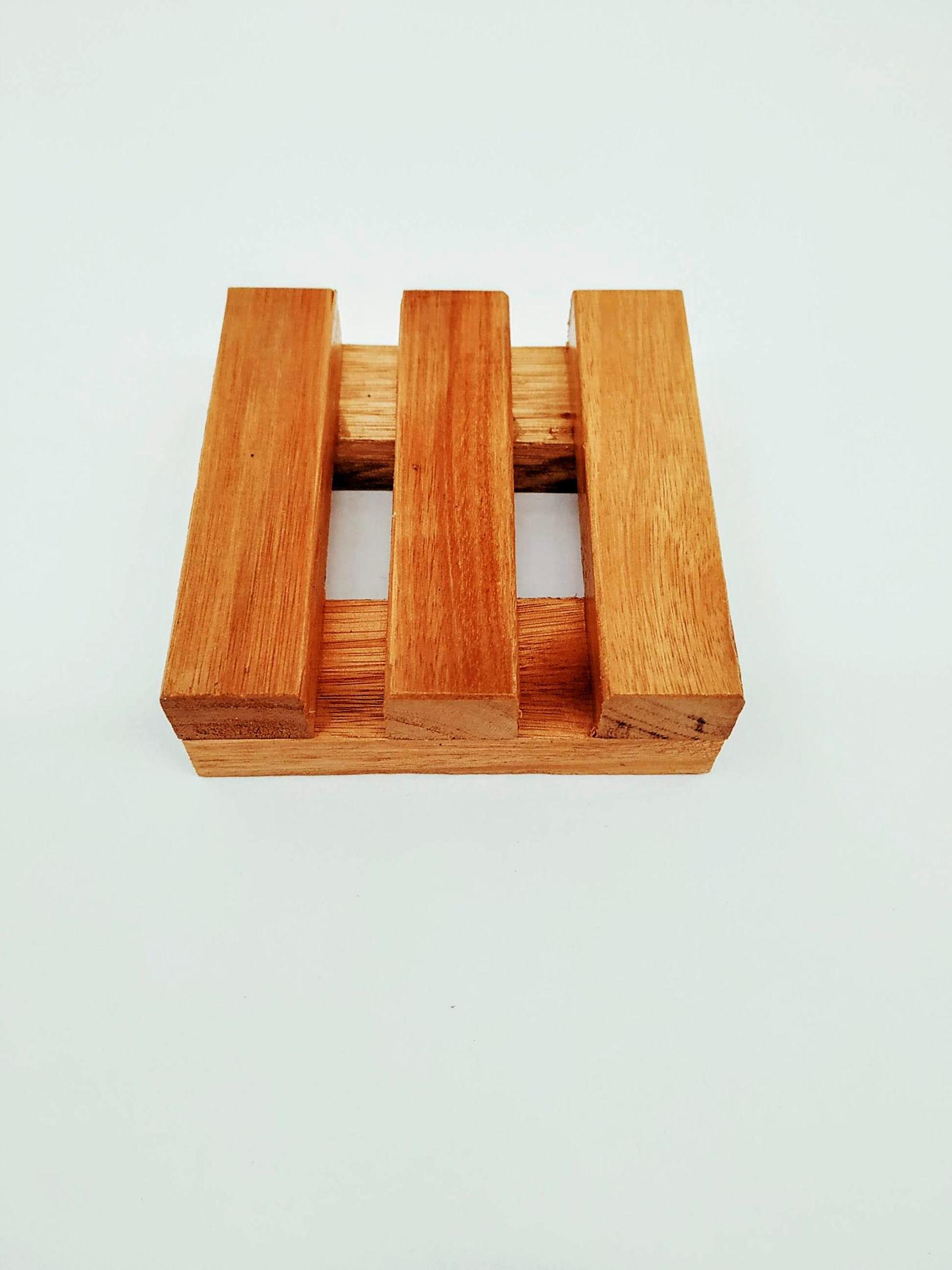 Foto de Jabonera sustentable de madera -Individual-