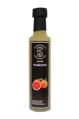 Foto de Licor citrico sabor Pomeletto