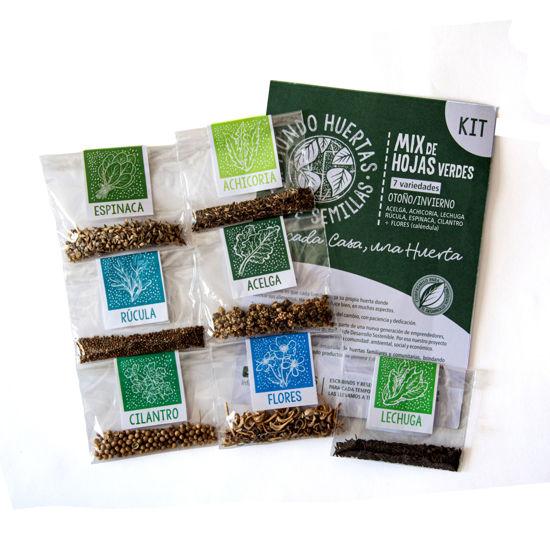 Foto de Kit de semillas «Mix de hojas verdes»