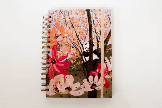 Foto de Cuaderno diseño exclusivo  «Panda»