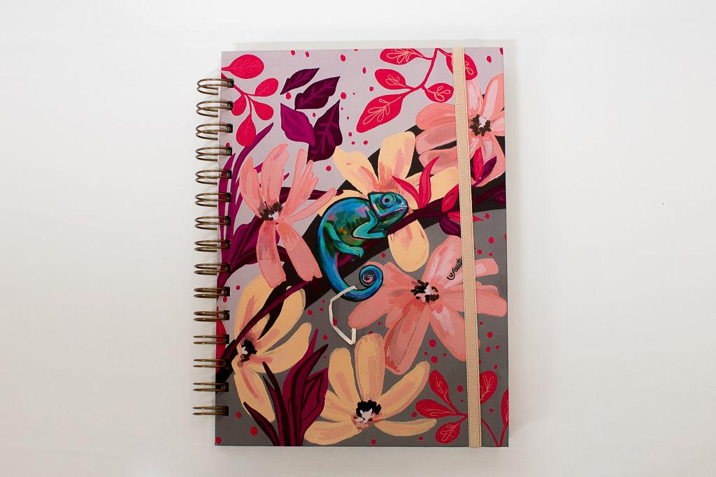 Foto de Cuaderno diseño exclusivo  «Camaleón»