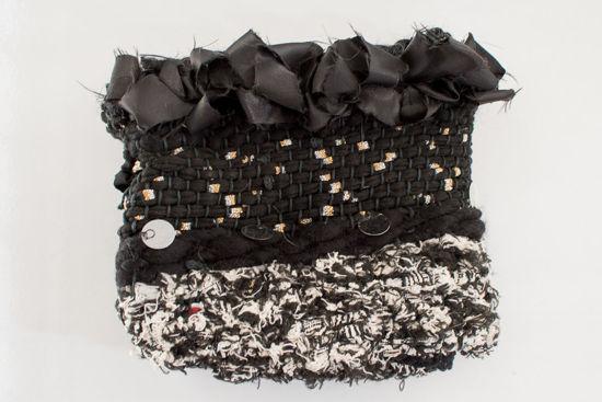 Foto de Funda almohadón estilo marroquí- color negro 50 x 45 cm -
