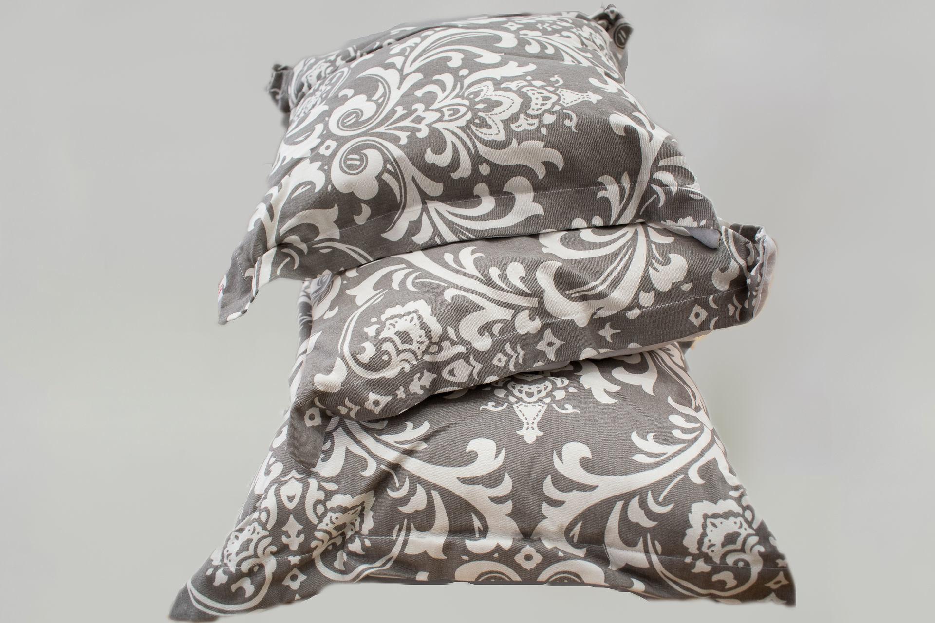 Foto de Set por 3 almohadones arabescos