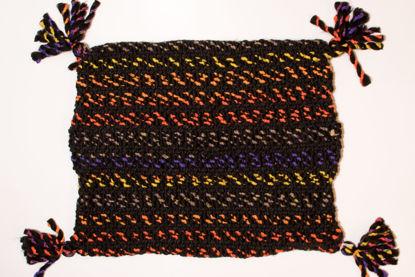 Foto de Funda almohadón negros rayados - juego 2 fundas-