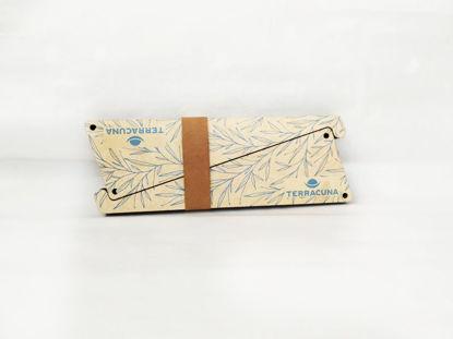 Foto de Soporte sustentable para notebook  «Hojas»