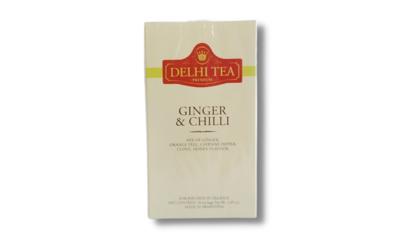 Foto de Té premium en saquitos «Ginger & Chilli»