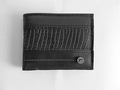 Foto de Billetera de cuero negro